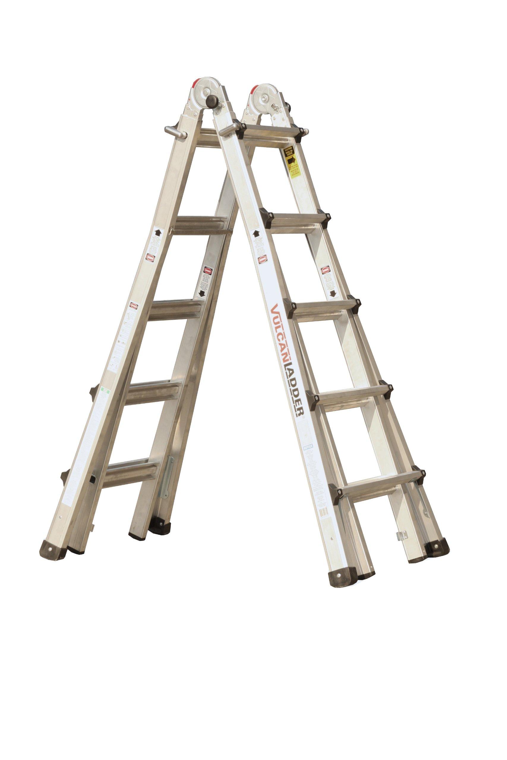 Vulcan Ladder USA ES-21T11G1 21-Feet Multi Task Ladder