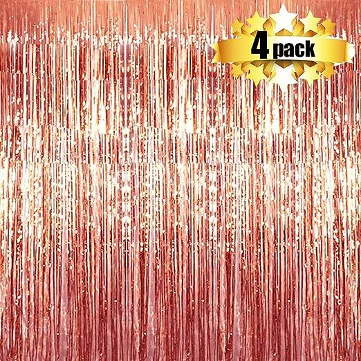 Amazon.com: NIUBER - Telón de fondo para cortinas, 4 ...