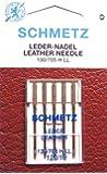 Schmetz 130/705H-LL - 5 aghi universali per pelle per macchina da cucire, spessore 120
