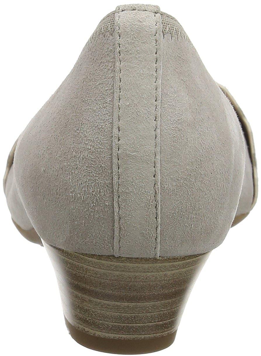Gabor Damen Pumps Comfort Pumps Damen Grau (Puder 44) 75f235