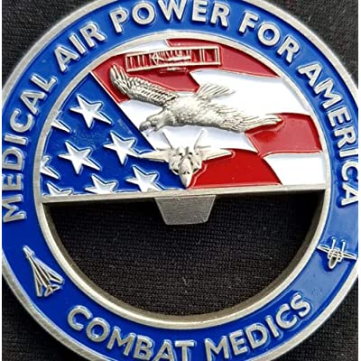 Phoenix Challenge Coins 81st Medical Group Bottle Opener Gen Corum Custom Unit Coin: Toys & Games