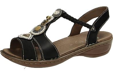 Damen 37275 Sandalette Ara Boden Sandaletten 12 Sportlicher Hawaii K13TFlJc