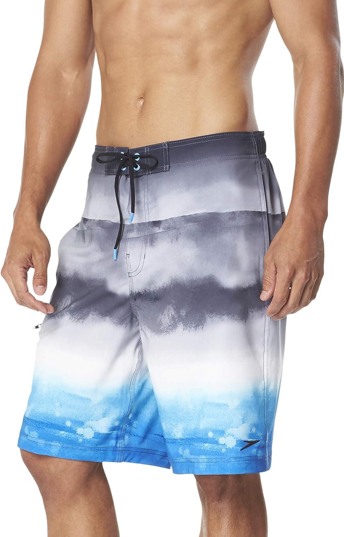 Speedo Men's Med Swim Board Shorts Active Flex HydroCompression Shorts Liner $68
