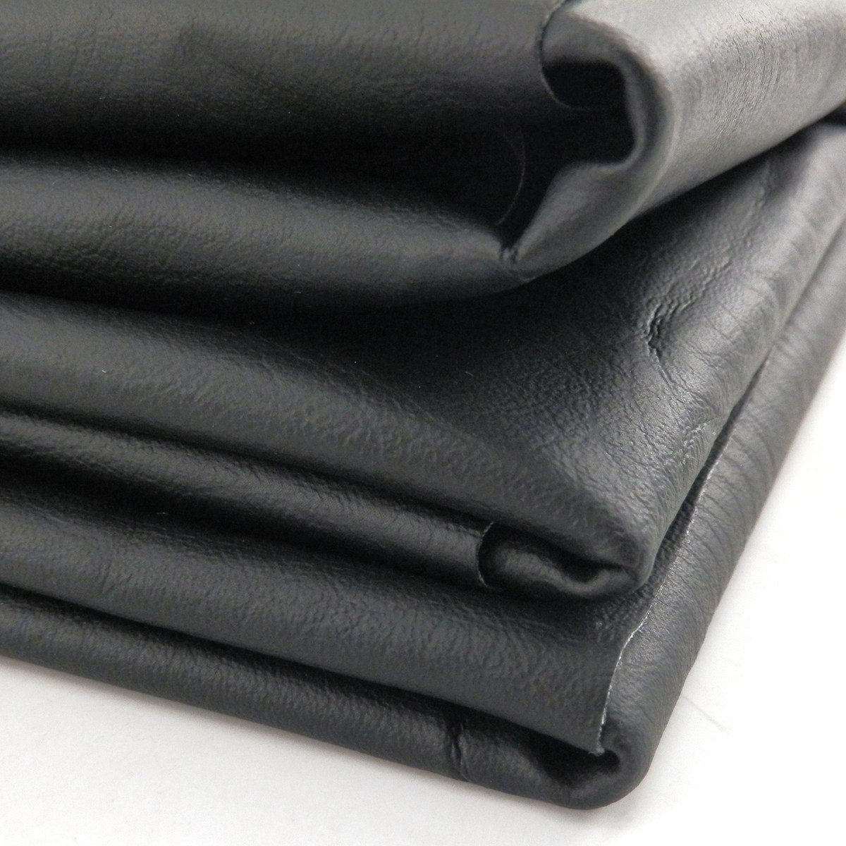 YunShuo DIY Seat Cover Texhide Vinyl Motorcycle ATV Scooter Fabric Matte Black 27 x 34