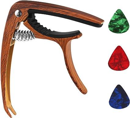 Guitarra Cejilla de sunlist accesorios para guitarra acústica ...