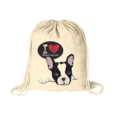 Mochila con cuerdas. Bolsa de cuerdas 100% algodón con impresión. PERSONALIZABLE. Mochila saco con cordón ideal para viajar: Amazon.es: Handmade