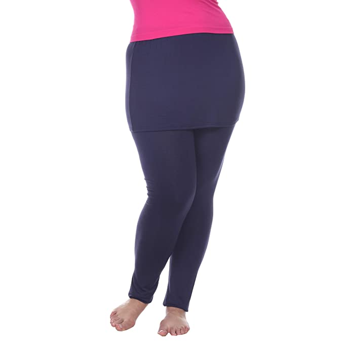 Amazon.com: White Mark - Leggings para mujer de longitud ...