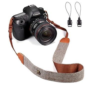 EnYL - Correa para cámara de Fotos (Compatible con DSLR/SLR/Nikon ...