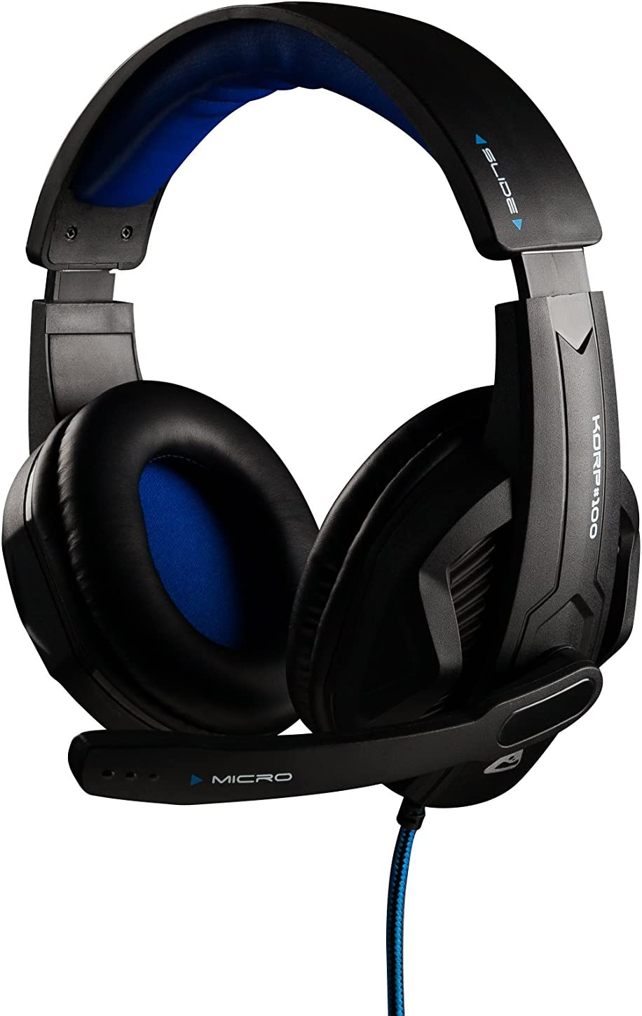 THE G-LAB - KORP 100 - Auriculares Gaming de Alto Rendimiento- Compatible PS4, PC & Xbox One - Confort - Negro