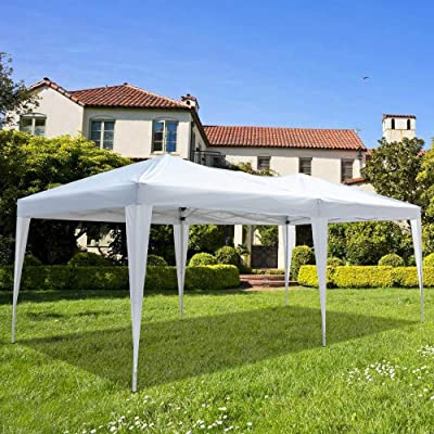 Skiku Canopy Tent with Waterproof Sidewalls and Windows for Party Wedding Outdoor Patio Parties Tent BBQ Shelter Canopy Gazebo 3 x 6M: Sports & Outdoors