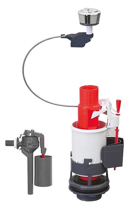 Wirquin 14014002 - Mecanismo para cisterna (3/6L, con grifo Topy 3/