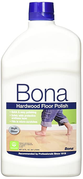 Amazon.com: 3 PACK Bona Hardwood Floor Polish   High Gloss, 32 Oz.: Health  U0026 Personal Care