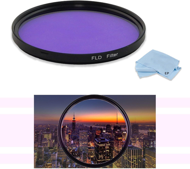 FLD Fluorescent Natural Light Color Correction Filter for Canon EF 135mm f//2L USM Lens