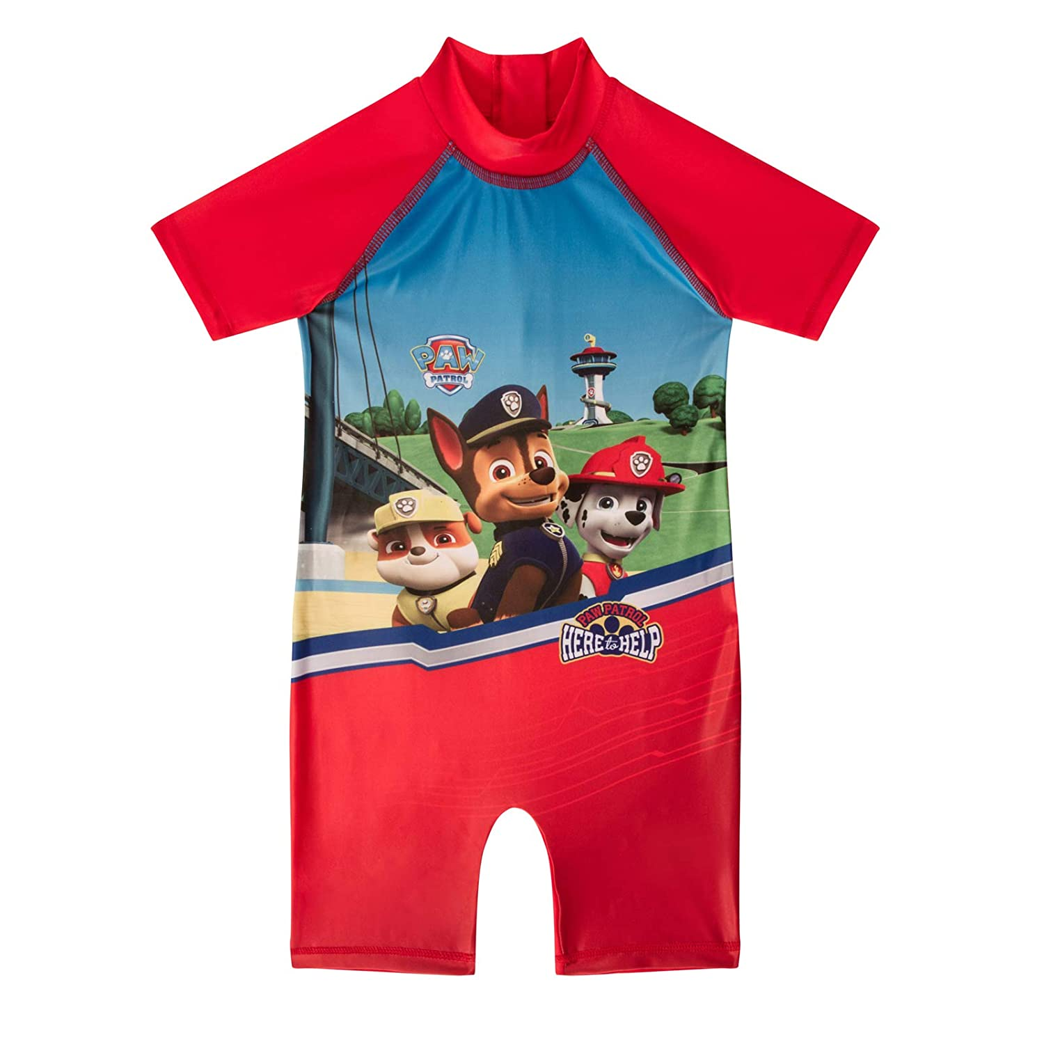 As Available Boys PAW Patrol Surf Suit Swimsuit Swimming Costume Childrens Swimwear Age 1-10 Years