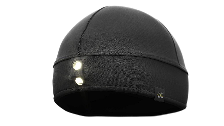 LUMA Active LED Licht Mütze, Mütze mit integrierter Stirnlampe