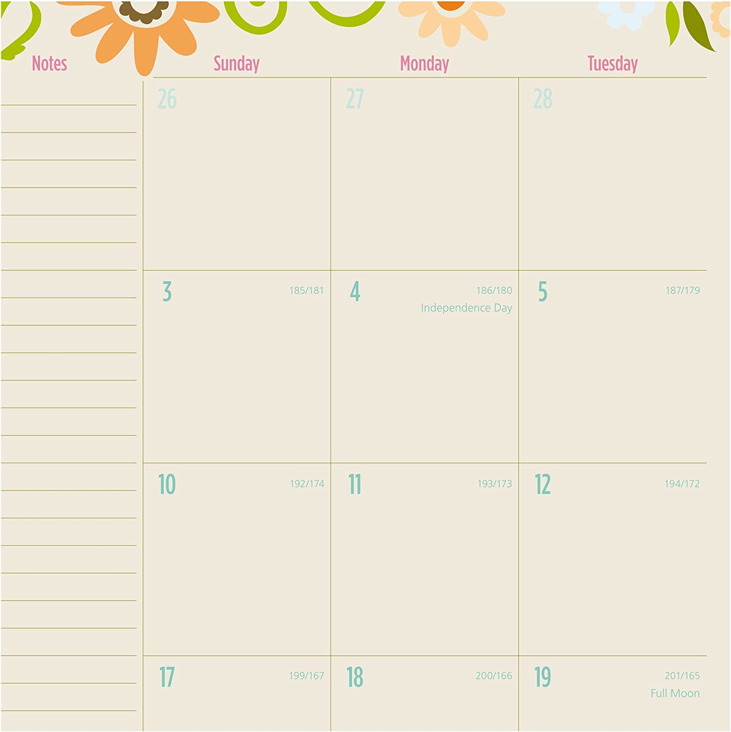 Garden Party 8-1//2x11 150-905A June 2017 July 2016 AT-A-GLANCE 150-905A-17 Academic Year Weekly//Monthly Planner