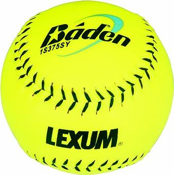 Baden Lexum Series Hi-Vis Match 3 de - Pelota de béisbol (Pack de 3, tamaño Oficial, Alta Visibilidad, Cuero): Amazon.es: Deportes y aire libre