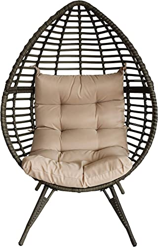 Sundale Outdoor All-Weather Wicker Lounge Chair