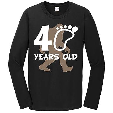 Really Awesome Shirts 40th Birthday Bigfoot Shirt