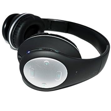 Auriculares Bluetooth estéreo inalámbrico plegable auriculares auriculares con reducción de ruido cancelación, construido en micrófono