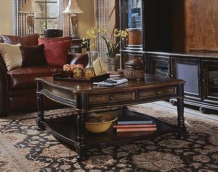Amazoncom Hooker Furniture Preston Ridge Square Cocktail Table In