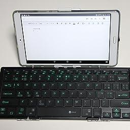 Amazon Iclever キーボード Bluetooth Usb接続 ワイヤレス 薄型 折りたたみ式 ブルートゥース キーボード 無線 有線 デュアルモード接続 マルチペアリング対応 4台までのデバイス同時接続 バックライト機能なし Ios Android Windows Iphone Ipad 対応 新型 Ic Bkse