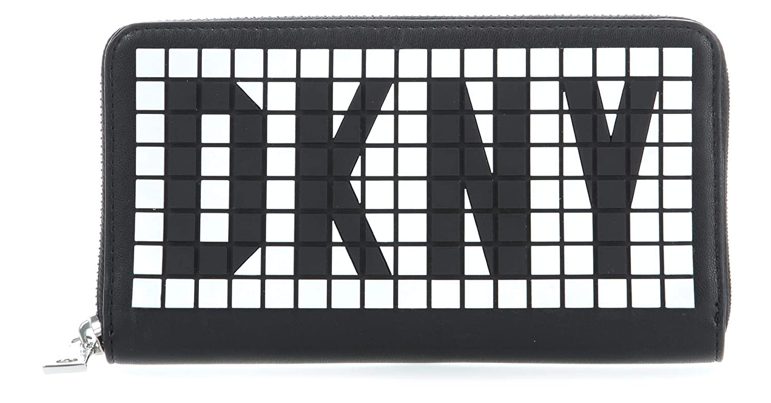 DKNY Tilly Monedero negro/blanco: Amazon.es: Ropa y accesorios