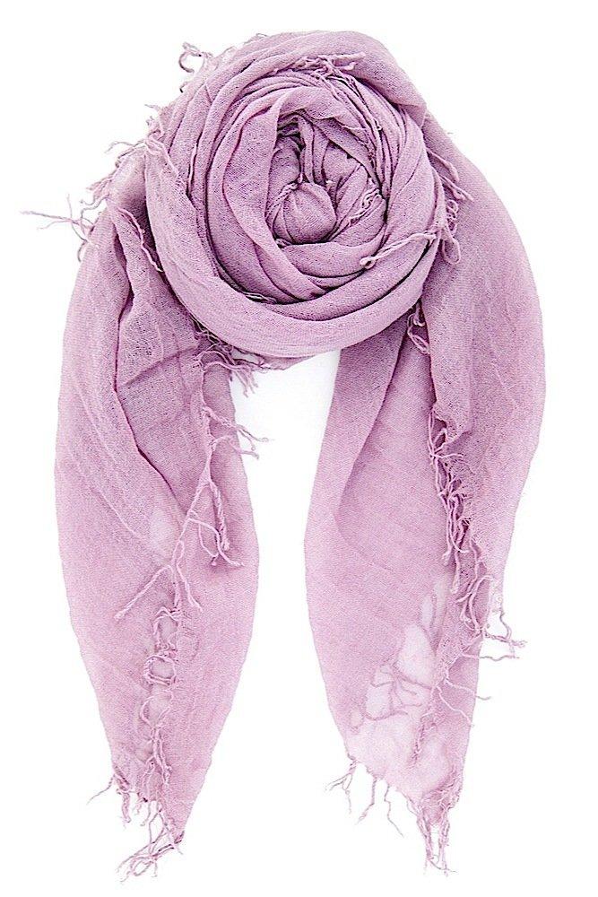 CHAN LUU NEW Light Purple Beautiful CASHMERE & SILK SOFT SCARF Shawl Wrap by Chan Luu