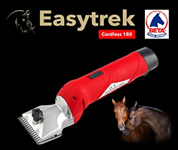 Easytrek Horse clippers trimmers yard clippers Quick clipping NEXT DAY DELIVERY