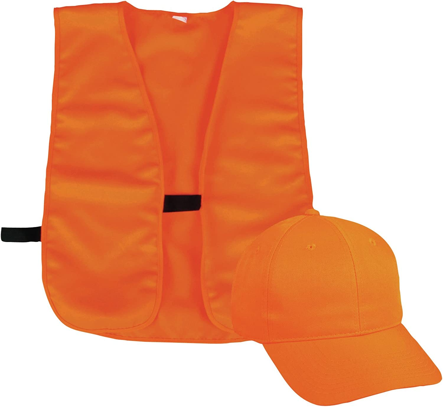 Outdoor Cap BLZCPV Vest and Cap Combo Adult Blaze, Blaze Orange: Clothing