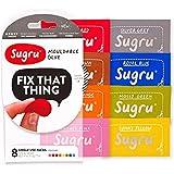 Sugru 塑形修复万能硅胶5g*8只装(新色彩) (新老包装随机发货)