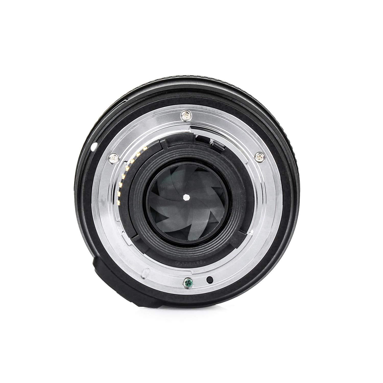 Objetivo YONGNUO YN EF50 mm f/1.8, con enfoque automático para cámaras Nikon Aperture. Con una gamuza de limpieza EACHSHOT: Amazon.es: Electrónica