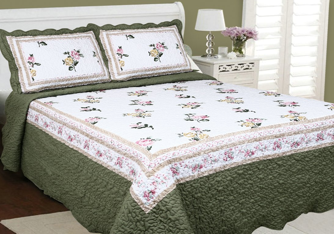 Cocoon Victoriana Patchwork Quilt Collection (Double)