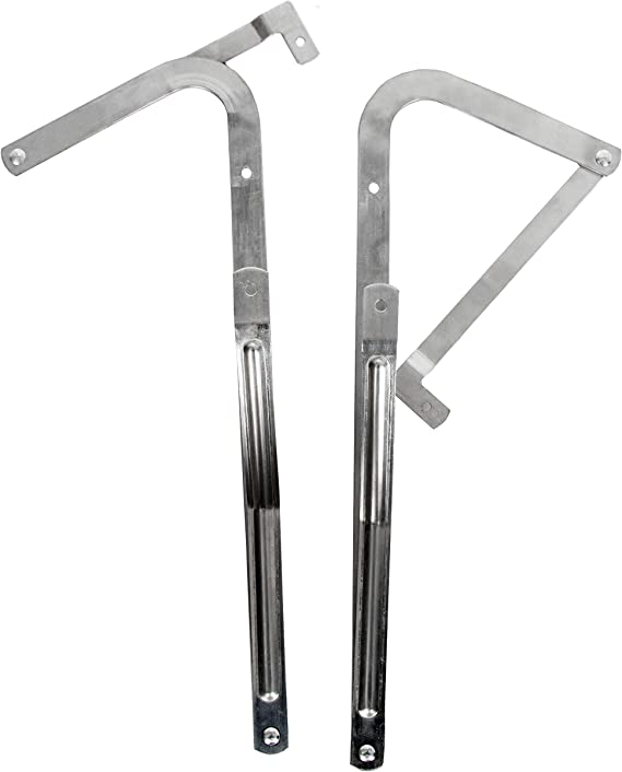 Attic Ladder Spreader/ Replacement Hinge Arms Kit Compatible with 2010 /& Newer Werner Attic Ladders Pair
