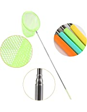 GWHOLE Pack of 4 Telescopic Butterfly Net Insect Bug Catcher Nets Fishing Net Outdoor Tools for Kids Playing