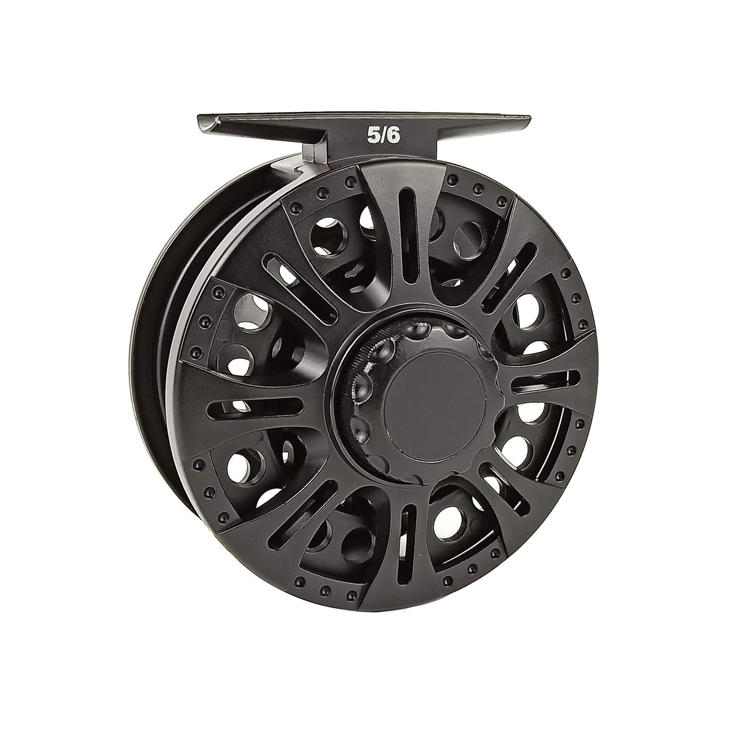 Aventik Z Fly Reel Center Drag System Classic III Graphite Large Arbor Sizes 3 4, 5 6, 7 8 Fly Fishing Reels
