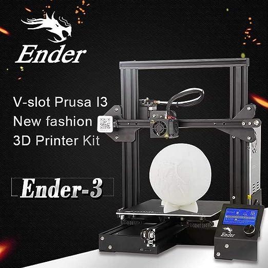 Creality Ender-3 - Impresora 3D (cristal endurecido ...