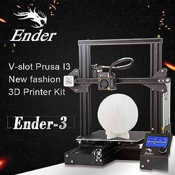 Creality Ender-3 - Impresora 3D (cristal endurecido reforzado, con ...