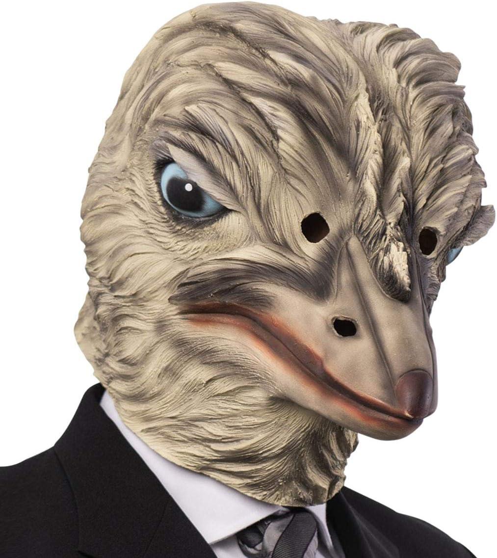 máscara Avestruz látex Disfraz de Carnaval Animales Granja Teatro ...