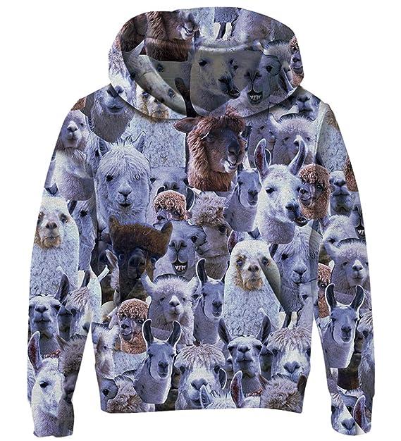 60% günstig Qualität zuerst Genießen Sie kostenlosen Versand Goodstoworld Kinder 3D Kapuzenpullover Hoodie Für Höhe 110-160CM Jungen  Mädchen Unisex Galaxy Animal Cartoon Druck Fleece-Futter Pullover  Sweatshirts