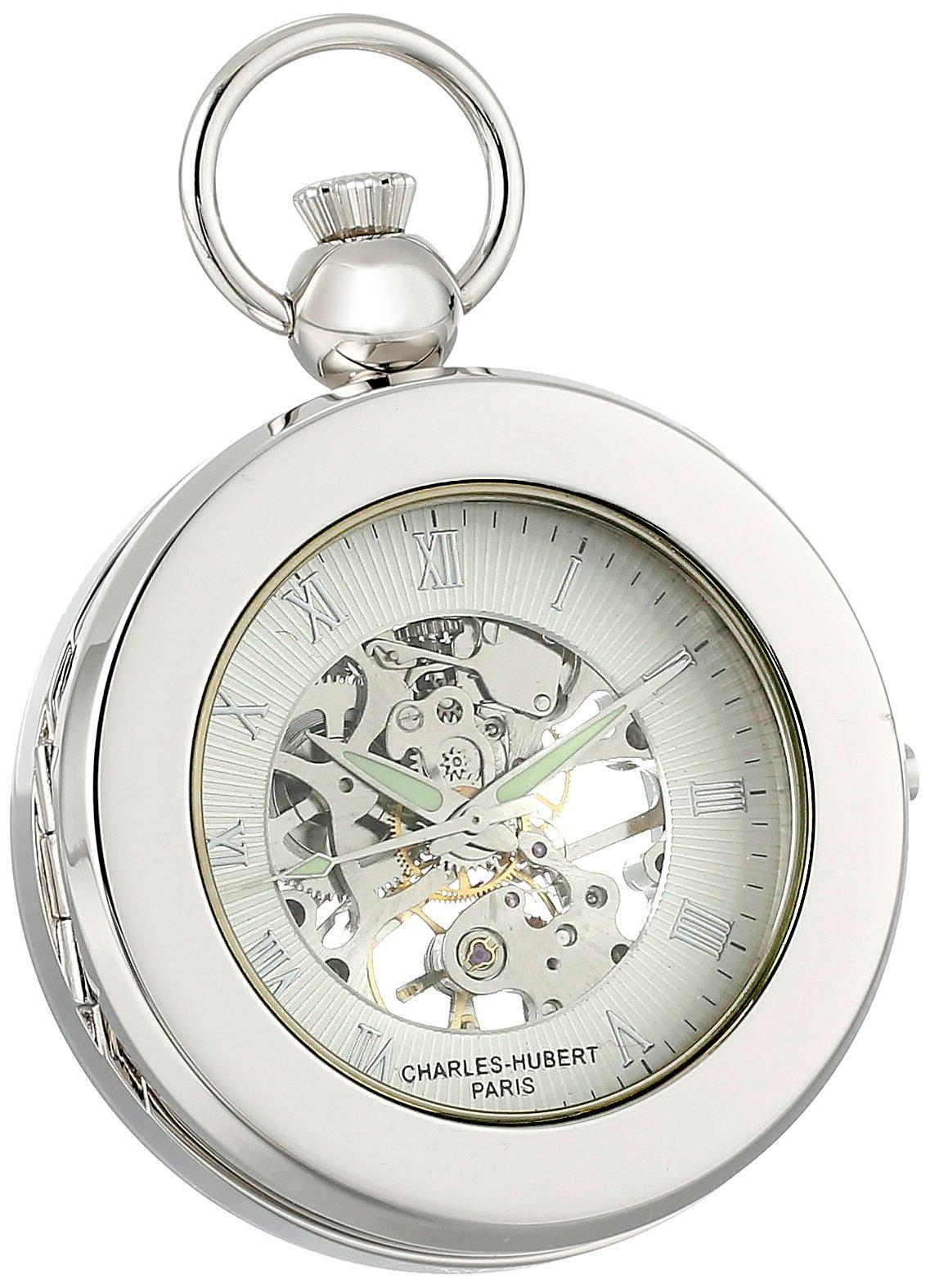 Charles Hubert 3849 Mechanical Picture Frame Pocket Watch by CHARLES-HUBERT PARIS (Image #2)