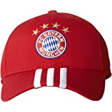 adidas Adult Bayern Munich Strip Curved Cap