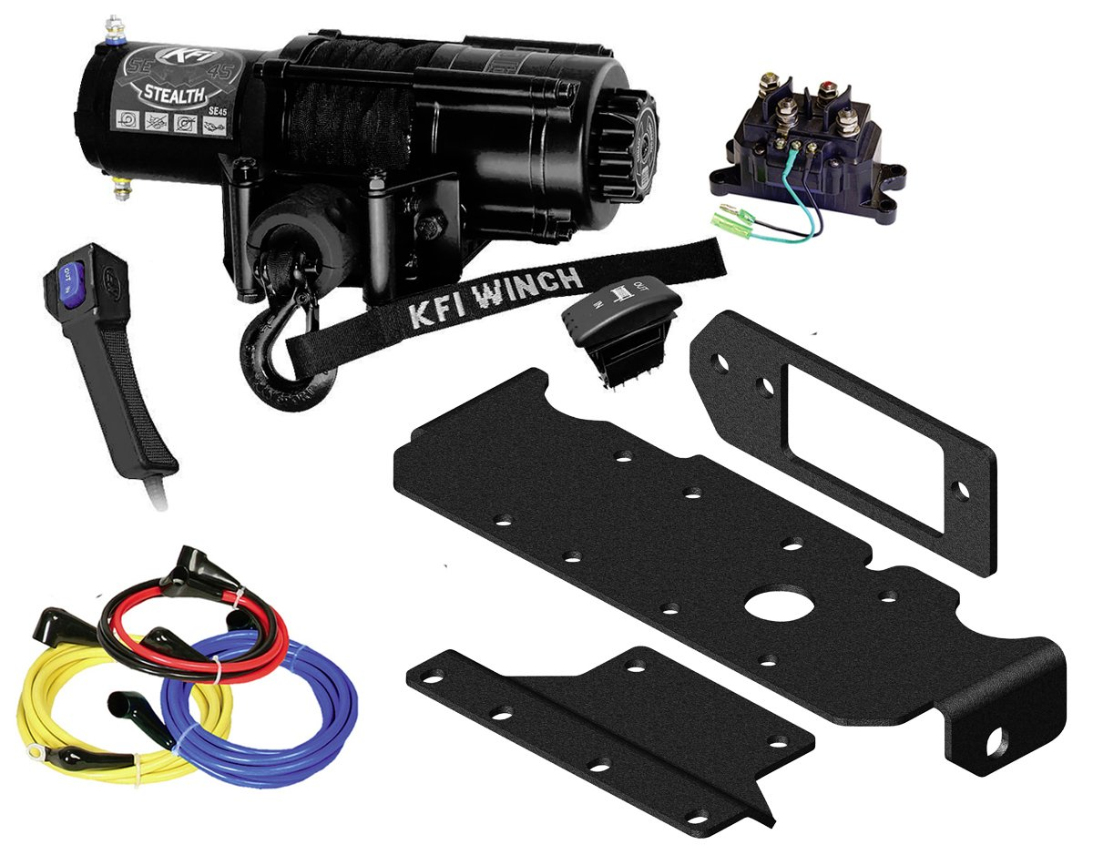 Stealth 4x4 Wiring Diagram Manual Guide E4od 1992 Amazon Com Kfi Combo Kit Se45 R2 4500lbs Winch Mount Rh 1987 2500 Chevrolet Warner A2000