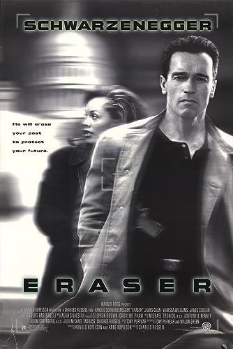 Image result for eraser movie poster