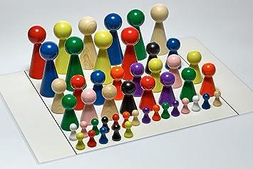Aufstellungsplan Set mit 48 Figuren u Figurenset für Systembrett Familienbrett