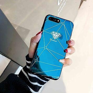 Funda iPhone 7 Espejo, iPhone 8 Funda Silicona,Carcasa ...