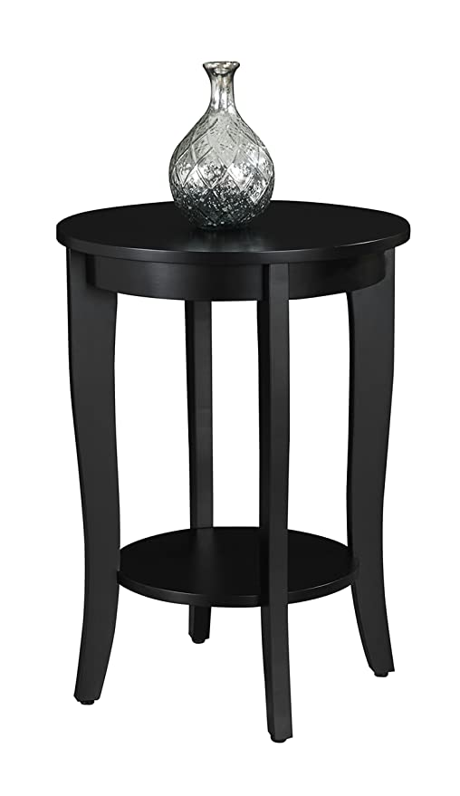 Fresh Convenience Concepts American Heritage Hall Table Black