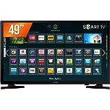 """Smart TV LED 49"""", Samsung, UN49J5200AGXZD, Preto"""