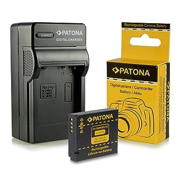 Cargador + Batería Panasonic DMW-BCJ13 / Leica BP-DC10E para Panasonic Lumix DMC-LX5 | DMC-LX7 | Leica D-LUX 5 | D-LUX 6