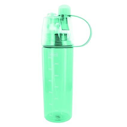 Take Away KA1498 - Botella 2 en 1 para Deporte, tapón y rocidador, plástico